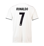 2018-19 Real Madrid Home Football Shirt (Ronaldo 7) - Kids