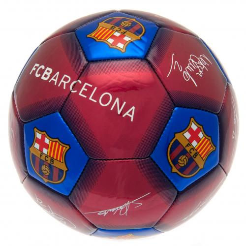 F.C. Barcelona Football Signature