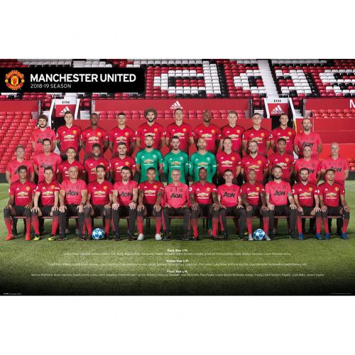 Manchester United F.C. Poster Squad 67