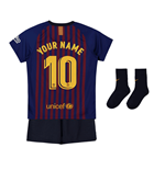 2018-2019 Barcelona Home Nike Baby Kit (Your Name)