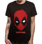 Deadpool - Portrait Black T-shirt (Unisex)