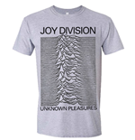 Joy Division: Unknown Pleasures Grey T-shirt (Unisex)