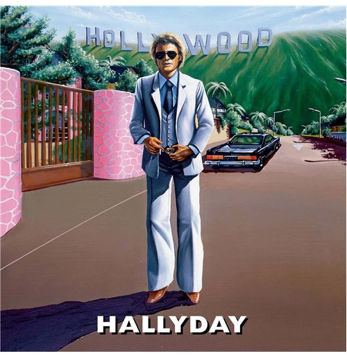 Vynil Johnny Hallyday - Hollywood (2 Lp)