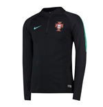 2018-2019 Portugal Nike Training Drill Top (Black)