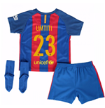 2016-17 Barcelona Home Baby Kit (Umtiti 23)