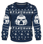 Warhammer 40K Knitted Christmas Sweater Space Marines