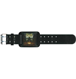 Ghost Leather Wrist Strap: Meliora