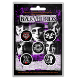 Black Veil Brides Button Badge Pack: Pentagram