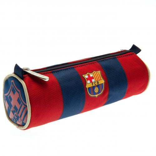 F.C. Barcelona Barrel Pencil Case ST