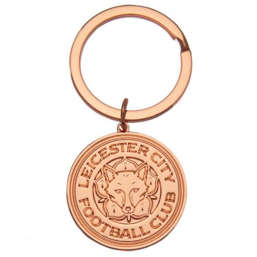 Leicester City F.C. Gold Plated Keyring
