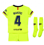 2018-2019 Barcelona Away Nike Little Boys Mini Kit (I.Rakitic 4)