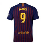 2018-2019 Barcelona Home Nike Football Shirt (Suarez 9) - Kids