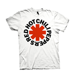 Red Hot Chili Peppers T-shirt Red Asterisks