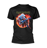 Iron Maiden T-shirt Fear Live Flames