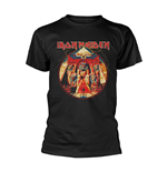 Iron Maiden T-shirt Powerslave Lightning Circle