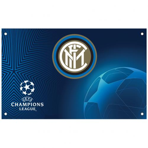 F.C. Inter Milan Champions League Flag