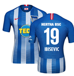 2018-19 Hertha Berlin Home Football Shirt (Ibisevic 19) - Kids
