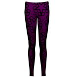 Black Veil Brides Leggings Pentagram