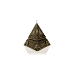 Behemoth Candles Unholy Trinity Pyramid - Brass (CANDLE)