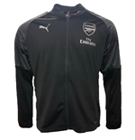 2018-2019 Arsenal Puma Stadium Jacket (Black) - Kids