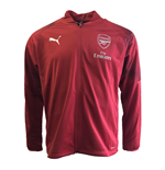 2018-2019 Arsenal Puma Stadium Jacket (Red) - Kids