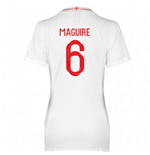 2018-2019 England Home Nike Womens Shirt (Maguire 6)