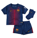 2017-2018 Barcelona Home Nike Baby Kit (No Sponsor)