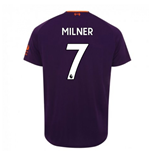 2018-2019 Liverpool Away Football Shirt (Milner 7)