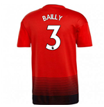 2018-2019 Man Utd Adidas Home Football Shirt (Bailly 3)
