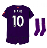 2018-2019 Liverpool Away Little Boys Mini Kit (Mane 10)