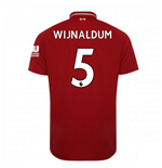 2018-2019 Liverpool Home Football Shirt (Wijnaldum 5) - Kids