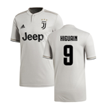 2018-2019 Juventus Adidas Away Football Shirt (Higuain 9)