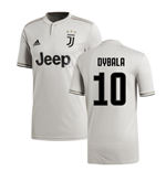 2018-2019 Juventus Adidas Away Football Shirt (Dybala 10)