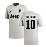 2018-2019 Juventus Adidas Away Football Shirt (Del Piero 10)