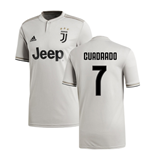 2018-2019 Juventus Adidas Away Football Shirt (Cuadrado 7)