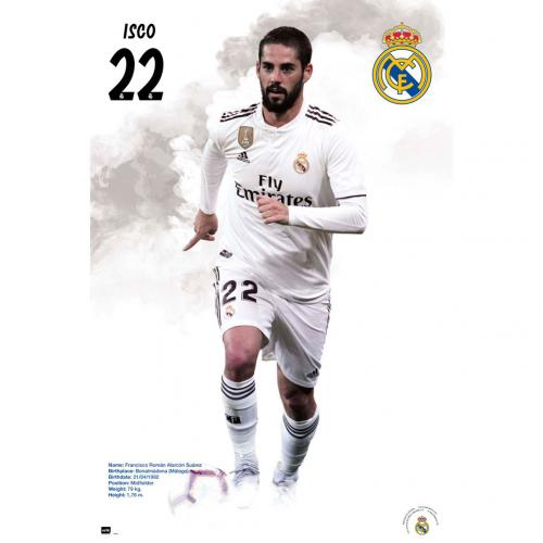 Real Madrid F.C. Poster Isco 59