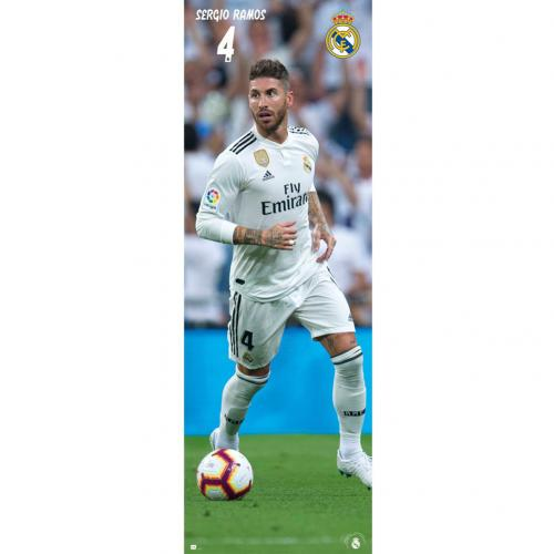 Real Madrid F.C. Door Poster Ramos 318