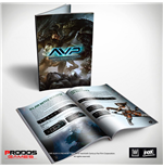 Alien vs Predator Tabletop Game Rulebook *English Version*