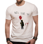 It - Youll Float Too - Unisex T-shirt White