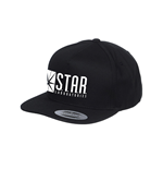 The Flash Tv - Star Labs Logo Snapback - Headwear Black