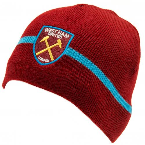 West Ham United F.C. Knitted Hat