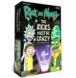Rick and Morty Multiverse Board Game The Ricks Must Be Crazy *English Version*