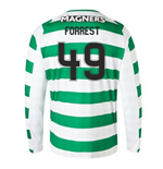 2018-2019 Celtic Home Long Sleeve Shirt (Forrest 49)