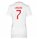 2018-2019 England Home Nike Womens Shirt (Lingard 7)