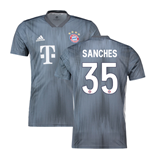 2018-19 Bayern Munich Third Shirt (Sanches 35)