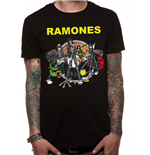 The Ramones - Retro Eagle Nyc - Unisex T-shirt Grey