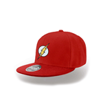 The Flash - Logo Red Snapback Cap - Headwear Red
