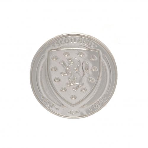 Scotland F.A. Silver Plated Badge