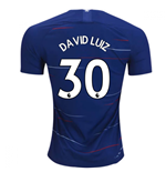 2018-2019 Chelsea Home Nike Football Shirt (David Luiz 30) - Kids