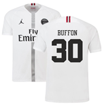 2018-19 PSG Third Shirt White (Buffon 30) - Kids